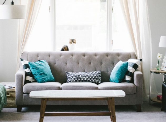 Rearrange Your living room furniture